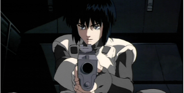 Major Kusanagi